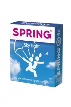 Презервативы SPRING SKY LIGHT,ультратонк, №3 до 03.2021