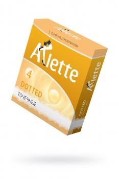Презервативы Arlette №3, Dotted Точечные 3 шт.