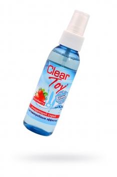 Очищающий спрей  CLEAR TOYS STRAWBERRY с антимикробным эффектом 100 мл