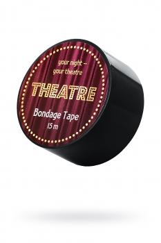 Бондажный скотч TOYFA Theatre,чёрный