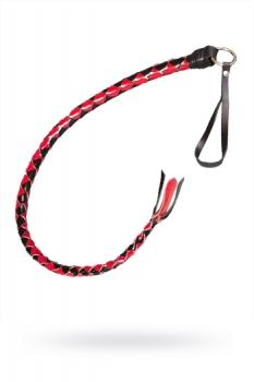 Плеть однохвостая черно-красная лак.