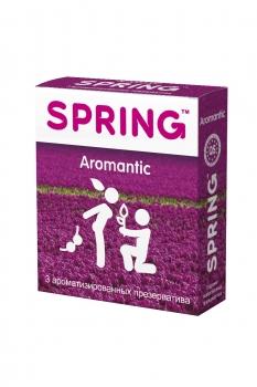 Презервативы SPRING AROMANTIC - ароматизированные, №3 ШТ