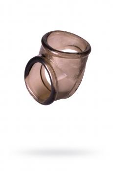 Кольцо Toyfa XLover, черное, прозрачное
