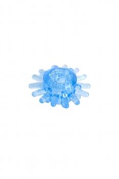 Кольцо гелевое синее