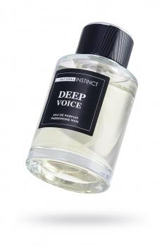 Парфюмерная вода с феромонами  Natural Instinct  Deep Voice  мужская 100 мл