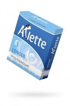 Презервативы Arlette №3, Longer Продлевающие  3 шт.