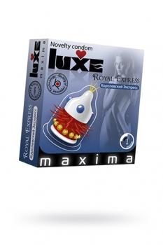 Презервативы Luxe Maxima Королевский экспресс №1, 3 шт