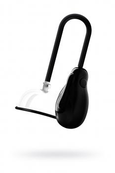 Помпы для клитора и вагины SAIZ Premium, силикон+ABS пластик, чёрный, 44 см