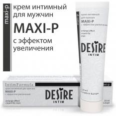 Desire Интим-крем Maxi-p (эффект увеличения) 30мл. муж.