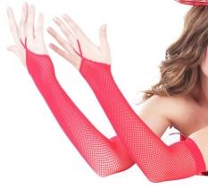 LA перчатки красн сетка