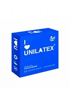Презервативы Unilatex Natural Plain №3  гладкие классические -ШТ