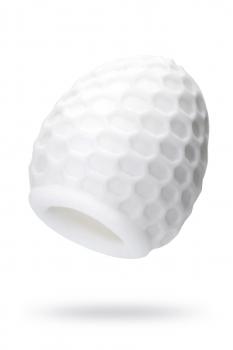 Мастурбатор A-Toys Pufl, белый, 6 см