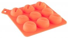 Формочка для льда, оранжевая.