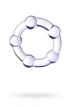 Эрекционное кольцо A-Toys, фиолетовое