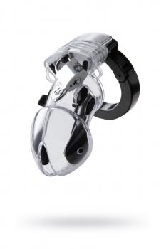 Электростимулятор Mystim Pubic Enemy,ABS  пластик, прозрачный, 8,2 см